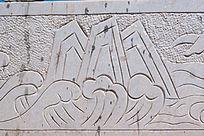 汉白玉山水雕刻