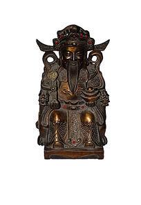 财神爷—神像雕塑
