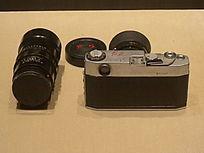 红旗牌135相机背面 镜头
