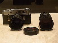 红旗牌135相机正面 镜头