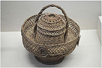 民国时期家庭日用品篮子