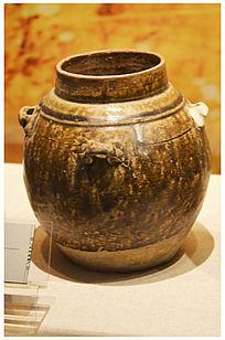 西汉时期瓷罐