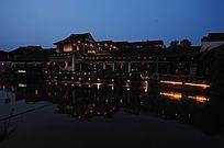 西塘古镇客栈夜景