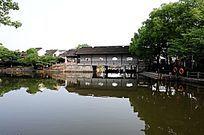 西塘古镇水闸桥