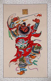 杨柳青木板年画人物