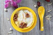 桂圆鸡蛋米散糖水甜品