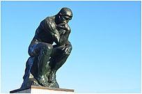 思想者人物雕塑