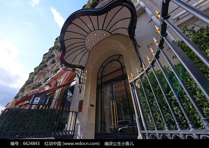 欧式建筑房子图片