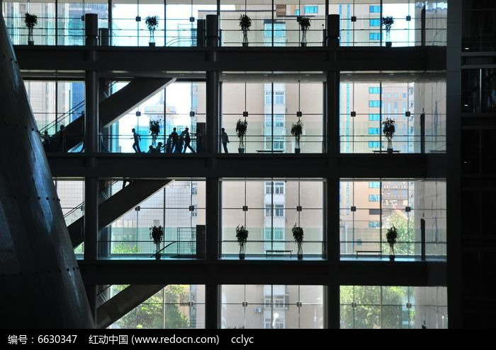 首都博物馆楼梯图片