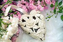 唯美浪漫心型鲜花