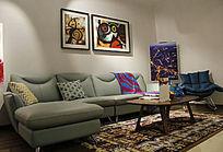 客厅空间沙发