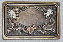 龙纹雕刻-铜制品花纹装饰