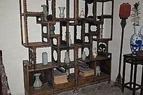 传统博古架-古典木家具