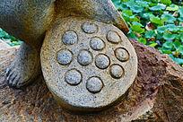 莲花头石雕