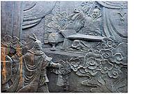 齐桓王人物雕塑