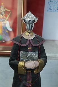 清代官员服饰造型