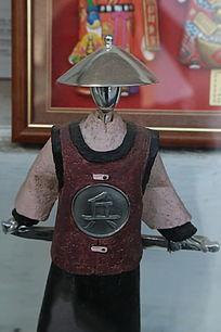 清代士兵服饰造型