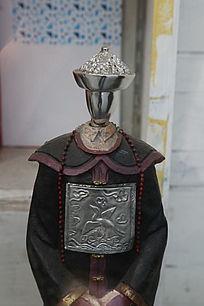 清代文官服饰造型