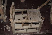 传统婴儿木座椅-老物件
