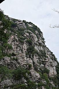 陡峭的山崖-山川自然风景