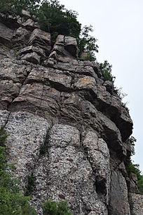怪石突兀-山川自然风景