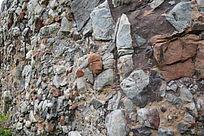 怪石纹理-山川自然风景