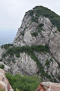 绝壁山岭-山川自然风景