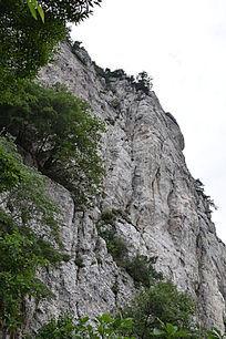 绝壁山崖-山川自然风景