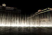 拉斯维加斯的贝拉吉奥大酒店喷泉