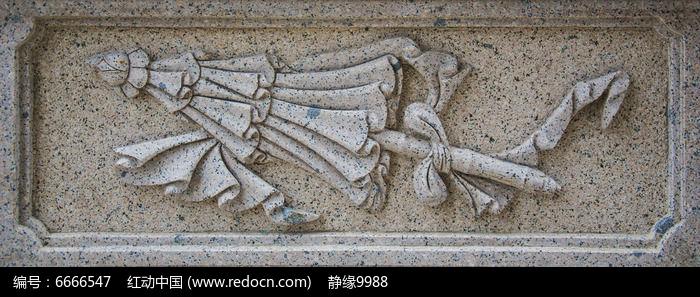 千山弥勒宝塔围栏伞的浮雕图片