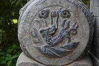 麒麟图案石雕