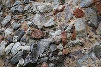 岩石纹理-山川自然风景