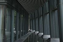 中山市文化艺术中心建筑角落