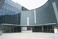中山市文化艺术中心正门入口