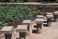 公园水上町步桥