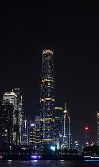 广州四季酒店灯光夜景