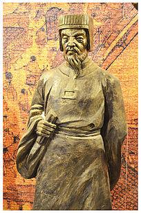 郭襄人物雕塑