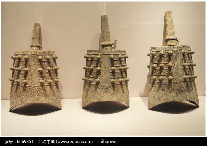 汉代青铜编钟图片,高清大图_文物古董素材