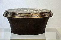 黑陶镶瓷茶桌