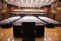 湖北省图书馆会议室讲台