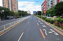 街道公交专用车道