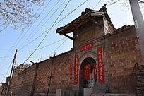 老建筑大门