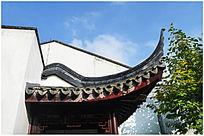 历史古建筑屋檐