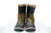蒙古族服饰皮靴
