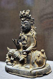 明代铜普贤菩萨像
