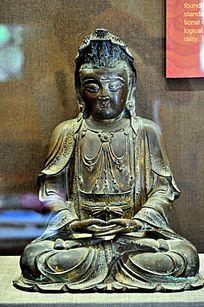 明代铜圣观音菩萨像