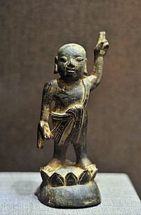 明代铜释迦牟尼佛太子像