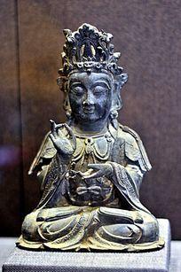 明代铜扬枝观音菩萨像
