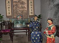 清朝男士服装-古装