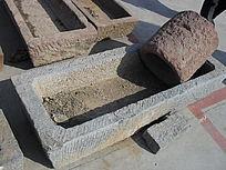 石刻水槽-老物件